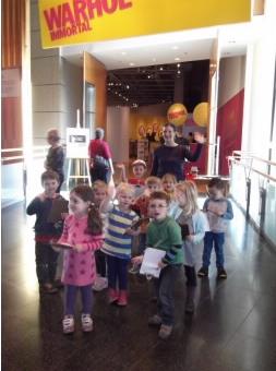 Visiting Warhol, Photographer: Plimmerton Kindergarten,  © Plimmerton Kindergarten