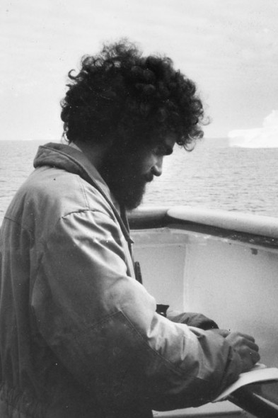 Jean Claude Stahl out at sea