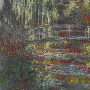 Claude Monet (1840-1926), The water lily pond, 1900, oil on canvas, Museum of Fine Arts, Boston. Given in memory of Governor Alvan T Fuller by the Fuller Foundation, 1961 (61.959)