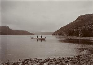 Whale boat, Carnley Harbour. Te Papa object O.007069
