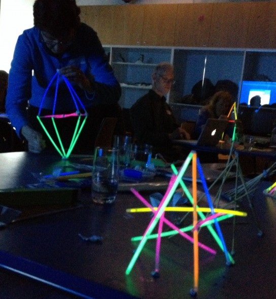 building light sculptures