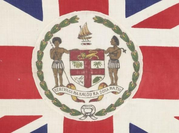 fiji flag detail