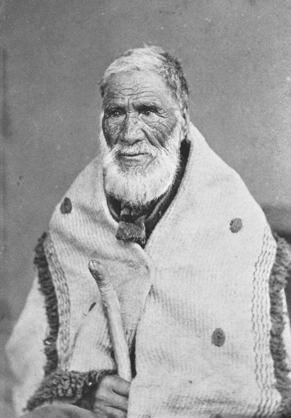 Eruera Maihi Patuone. 7-A628. Sir George Grey Special Collections, Auckland Libraries. Auckland Libraries