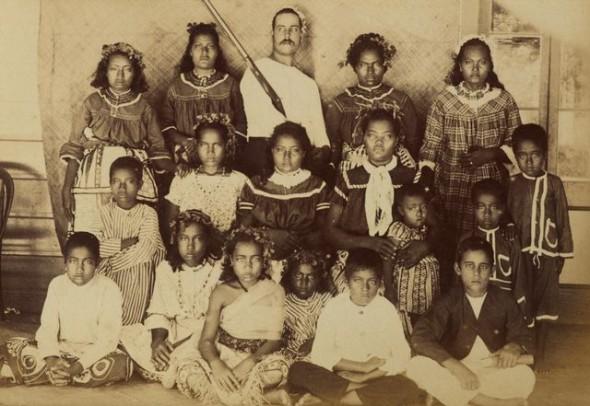 Olohega Jennings family