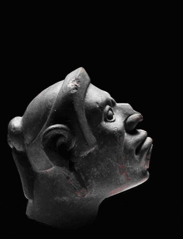 Sculpture of Aztec warrior, 1250 – 1521.  Museo Nacional de Antropologia. Image: Consejo Nacional para la Cultura y las Artes - Instituto Nacional de Antropología e Historia. Photographer Michel Zabe