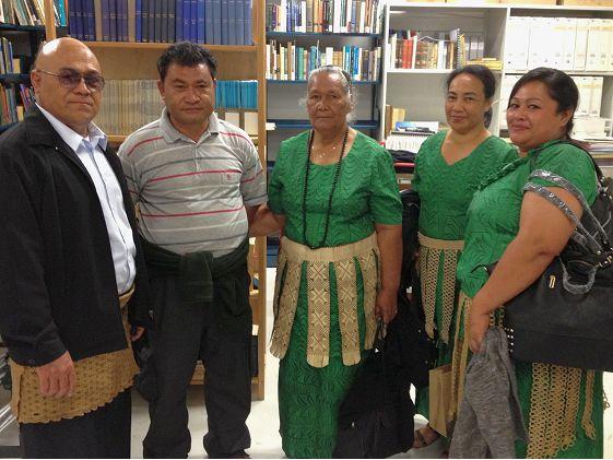 Tongan visitors