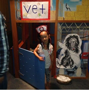 Vet Nurse, Photographer: Premier Preschool, © Premier Preschool