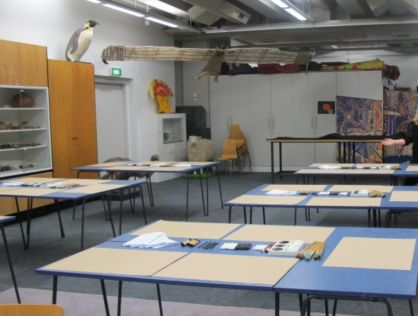 Classroom setup, Photographer: Te Papa and Lisa Terreni,  © Te Papa and Lisa Terreni