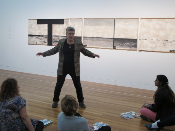 Inside the painting, Photographer: Te Papa and Lisa Terreni,  © Te Papa and Lisa Terreni