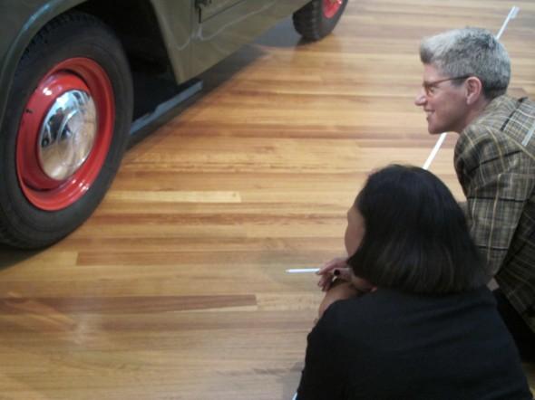 Finding our reflection in the wheels, Photographer: Te Papa and Lisa Terreni,  © Te Papa and Lisa Terreni