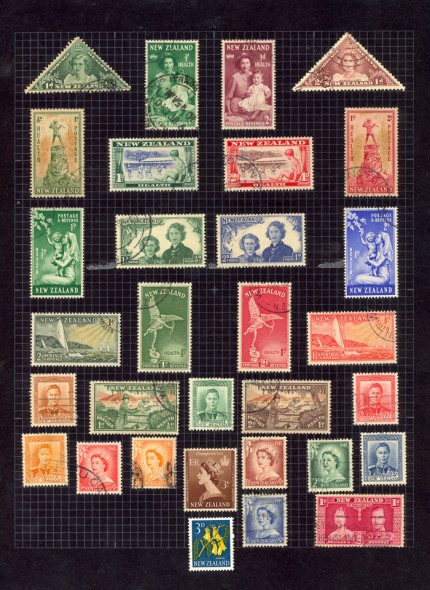 Freddie Mercury Stamp Collection, album page, c. 1960.  The British Postal Museum & Archive, London