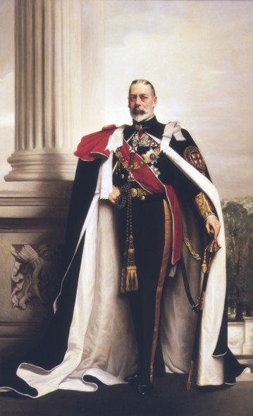 His late Majesty King George V, 1934. Lander, John St Helier. Gift of T.B.F. Davis, 1935. Te Papa