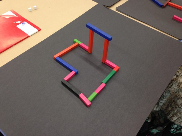 Ephemeral Art with Cuisenaire Rods, Photographer: Te Papa, © Te Papa
