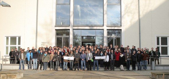 Group photo at the GfBS meeting in March 2014, Dresden, Germany.