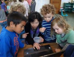 Doing science together, Photographer: Newtown Kindy, © Newtown Kindy