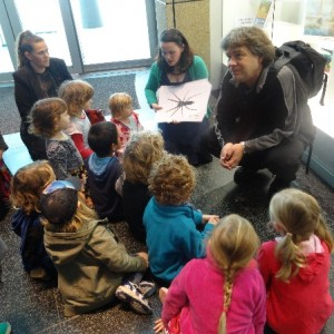 Meeting Rebecca and Phil at Te Papa, Photographer: Newtown Kindy, © Newtown Kindy