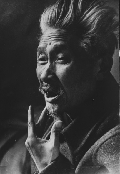 Shi Lu in Beijing, 1979, photograph, courtesy of Shi Lu's family