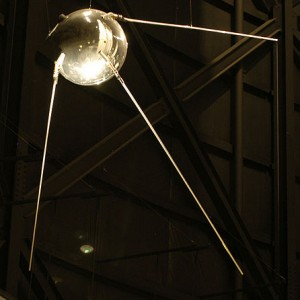 Sputnik 1. National Museum of USAF.