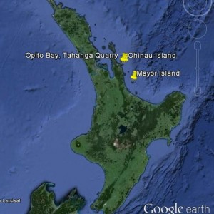 Locations in coromandel