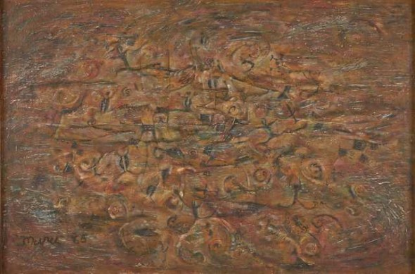 Kohatu, 1965, New Zealand. Muru, Selwyn. Purchased 1965. © Te Papa.