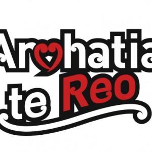 Arohatia te Reo logo