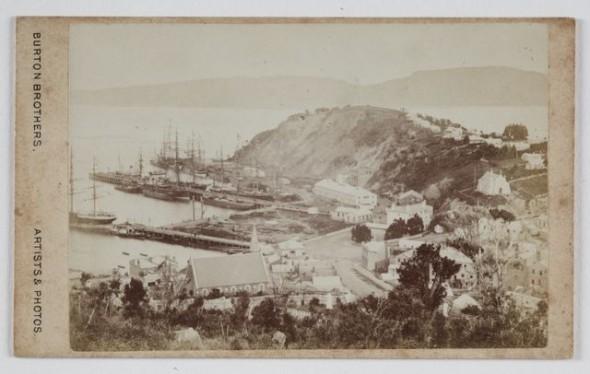 Burton Brothers, Port Chalmers, circa 1870, Dunedin. Gift of Mrs E W Gibbs, 1933. Te Papa