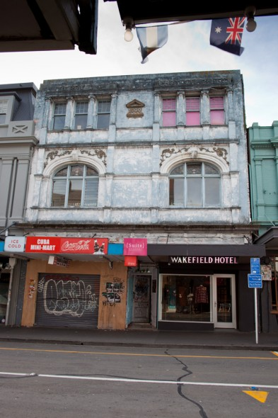 Berry & Co Photographers at 147 Cuba St, Wellington. Photo: Michael Hall, Te Papa.