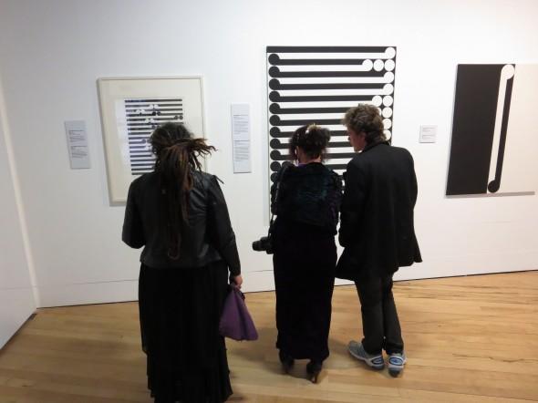 Gordon Walters: Koru at the Percy Thomson Gallery, October 2014. Photo: Percy Thomson Gallery.