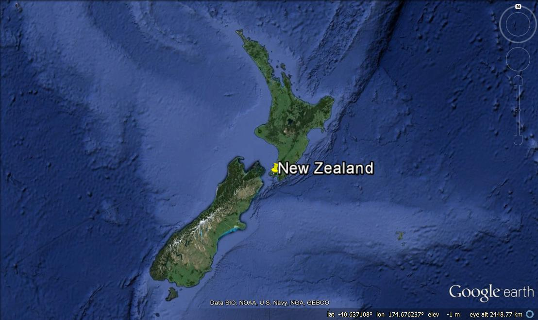 A penguins day at sea the wellington edition te papas blog location of the study yellow pin at wellington new zealand image from googleearth copyright te papa gumiabroncs Gallery