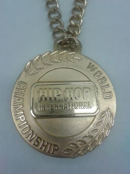 hip hop medal