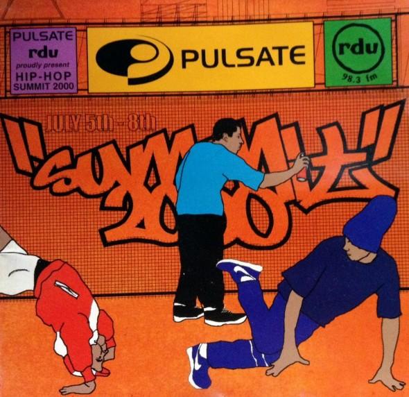 Flyer - Hip hop Summit 2000