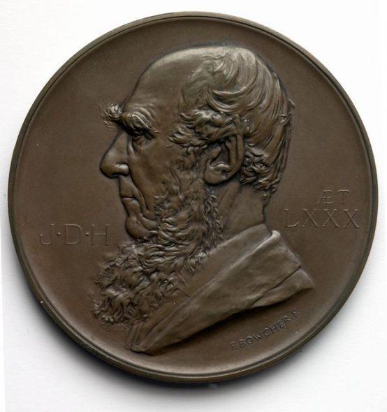 Hooker medal obverse