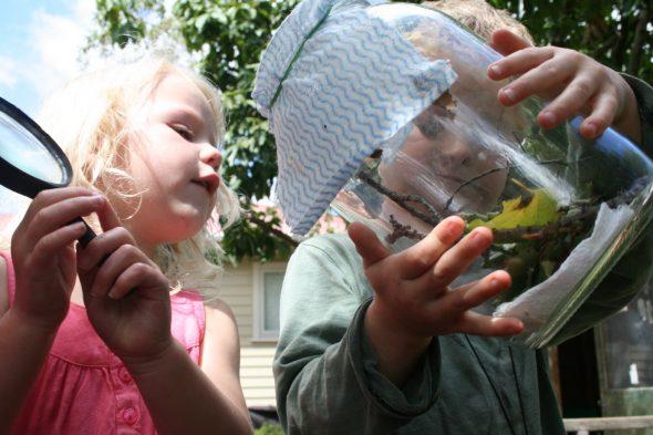 Discovering Nature, Photographer: Imagine Childcare, © Te Papa