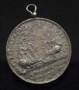 R & A Medal reverse