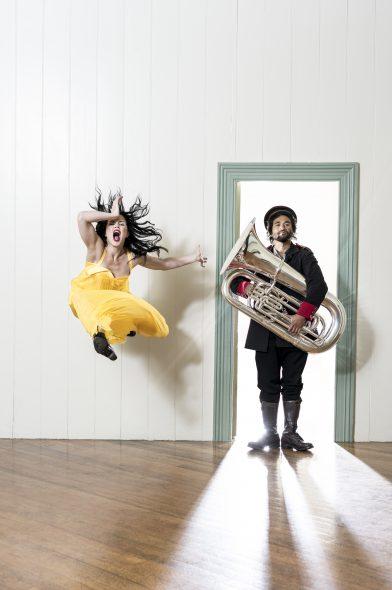 Photograph by JohnMcDermott. Dancers TupuaTigafua and HannahTasker-Poland_Dncrs