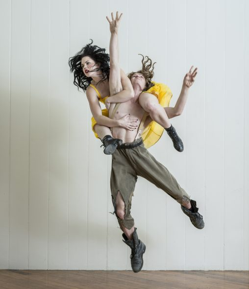 Photograph by John McDermott of dancers Gareth Okan and HannahTasker-Poland.