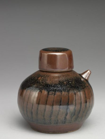 Soy sauce bottle, 1980s, Auckland, by Peter Stichbury. Purchased 2010. Te Papa (GH012573)