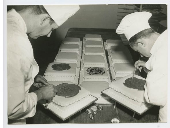 Catering 21st Anniv Cakes 1961