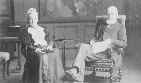 Edward and Sarah Corner