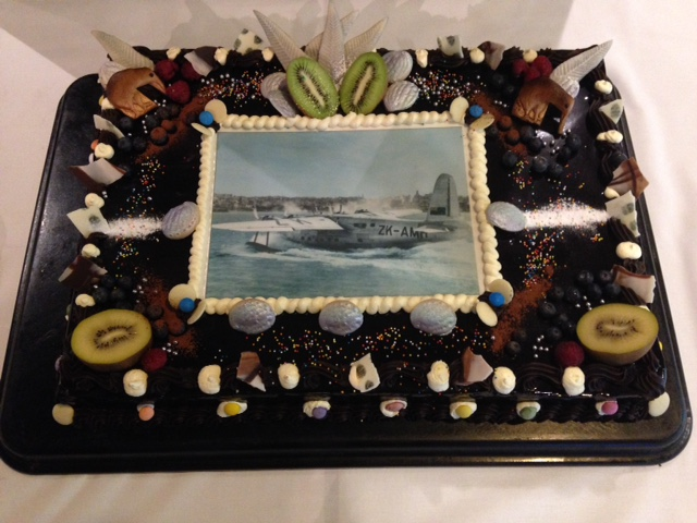 Air New Zealands 75th Birthday Cake At Te Papa 30 April 2015