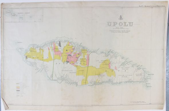 Upolu map