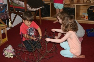 Creating webs, Photographer: Imagine Childcare, © Te Papa
