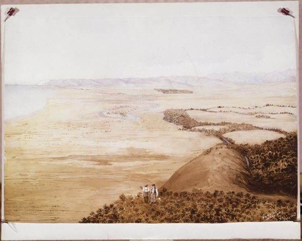 Bell, Francis Dillon, 1822-1898 :Part of Wairau July 1845. Ref: NON-ATL-P-0078.