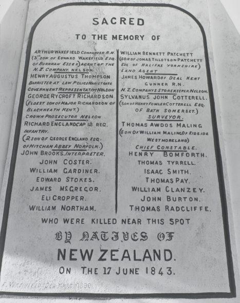 O.004170 Land of memories, The monument at Tuamarina 1988 Mark Adams