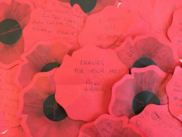Messages on poppies in Gallipoli: The scale of our war