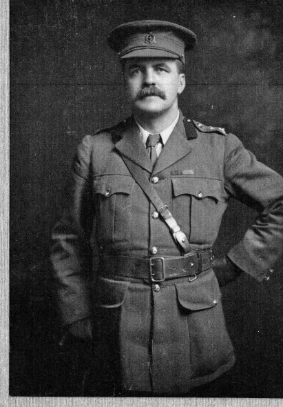 Percival Fenwick during WWI. Photographer unknown. Courtesy of Philippa Horn and Richard Fenwick