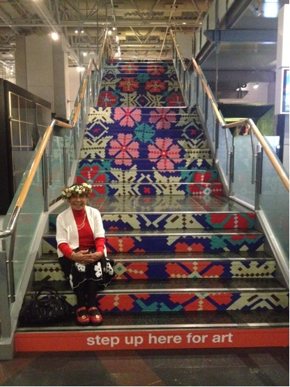 Mama Paree, Level 4 Stairs