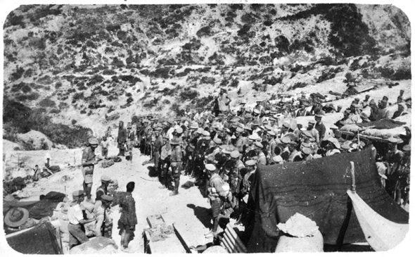 Historic photo from Gallipoli