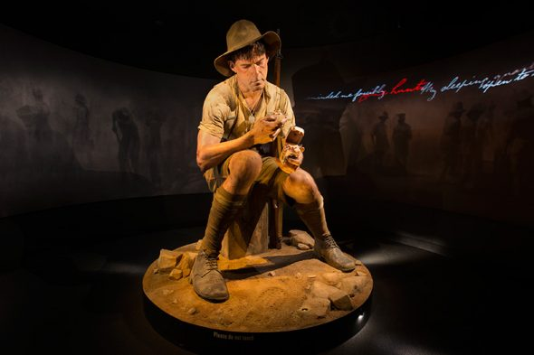 Private Jack Dunn from the Gallipoli: The scale of our war Exhibition