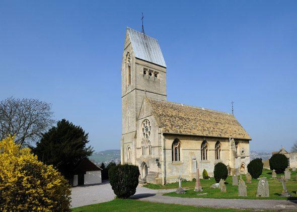 8 Selsley church